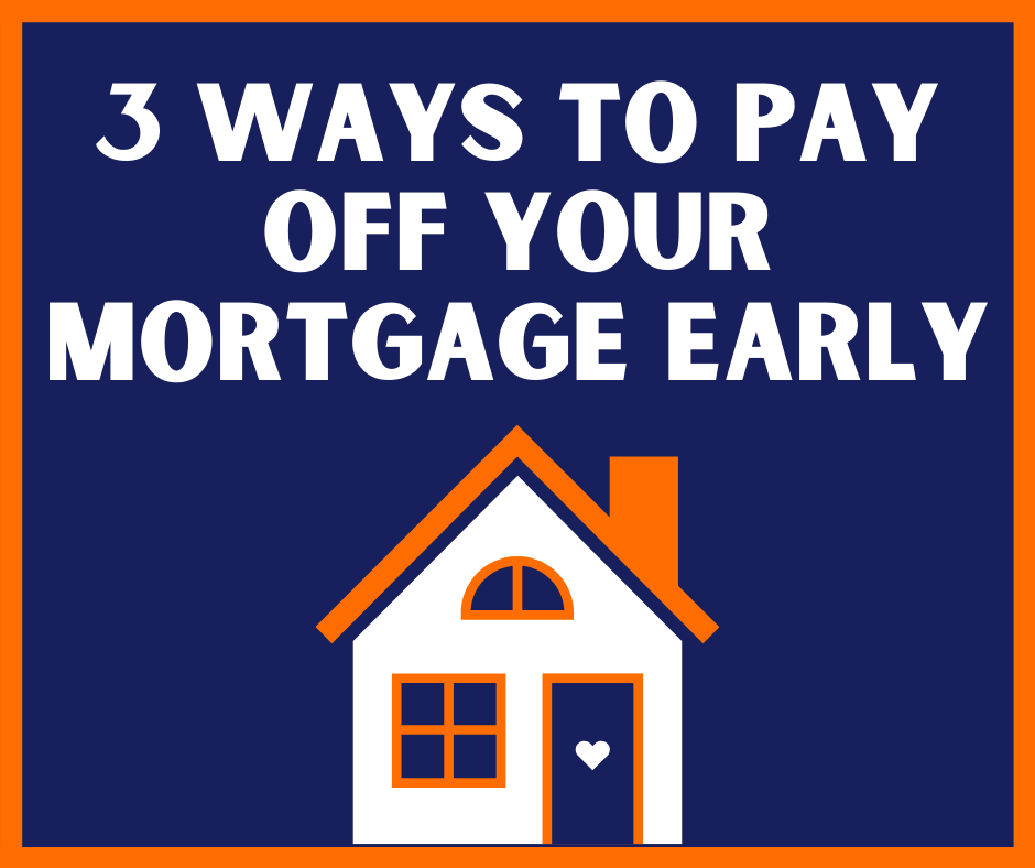 3 ways to pay off your mortgage