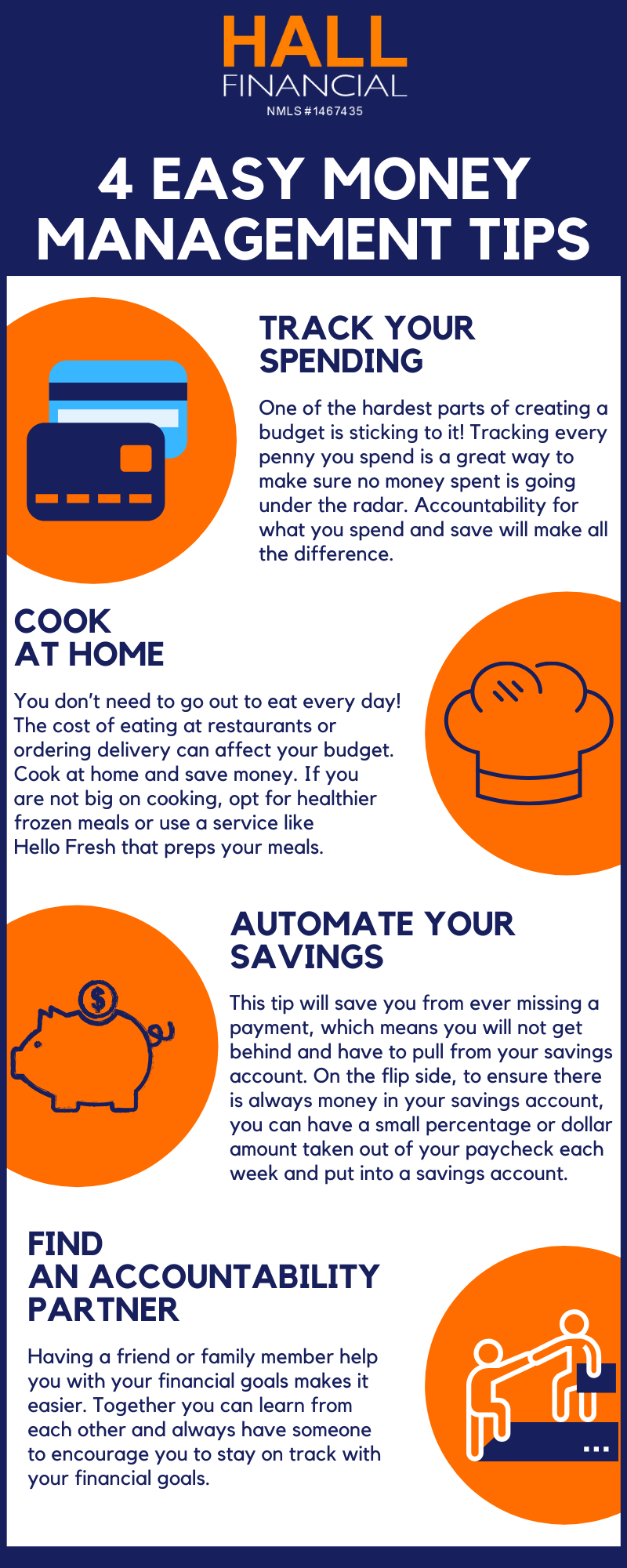 Infographic 4 Easy Money Management Tips