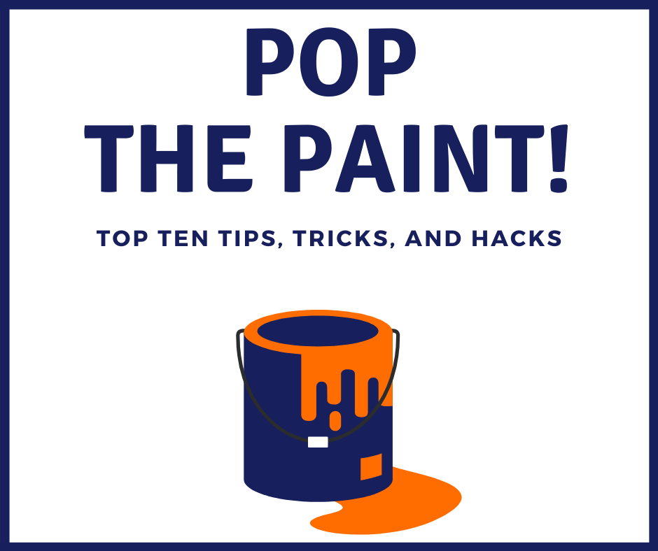 Pop the paint pic