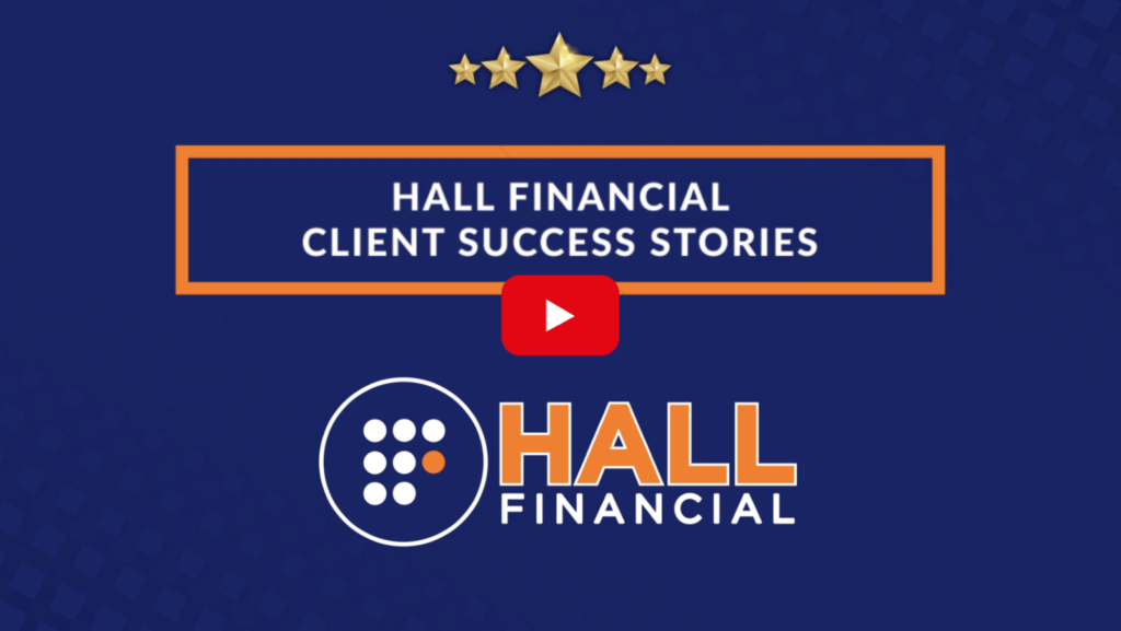 Hall fin success graphic