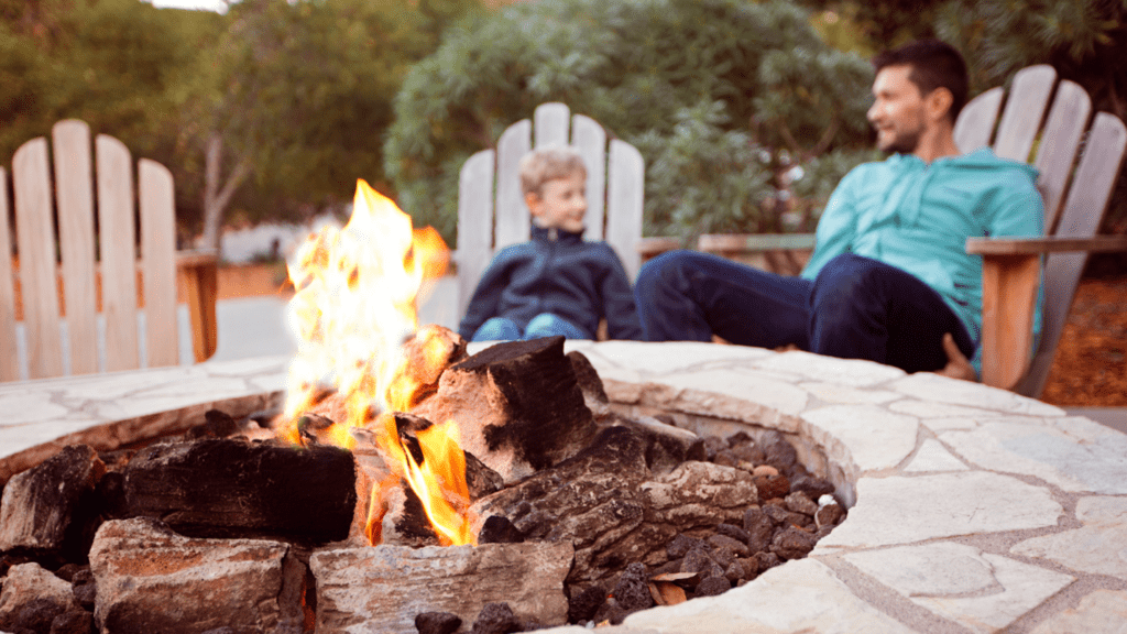 actual fire pit