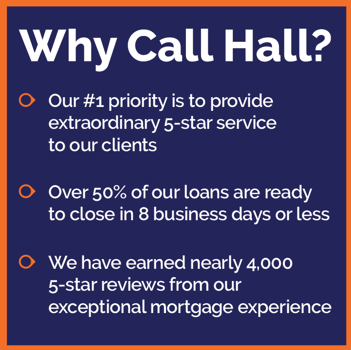 Why Call Hall Financial